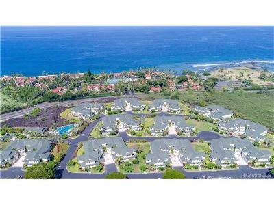 Kailua Condo/Townhouse For Sale: 78-6833 Alii Drive #D-4