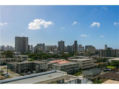 Honolulu Condo/Townhouse For Sale: 1309 Wilder Avenue #801