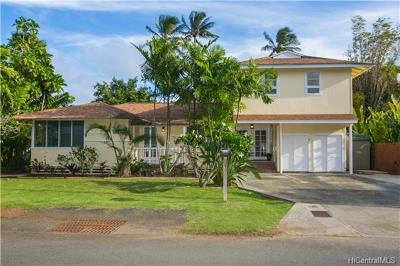 Single Family Home For Sale: 45-125 Ka Hanahou Circle