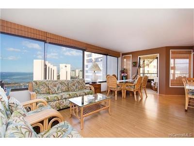 Honolulu Condo/Townhouse For Sale: 1778 Ala Moana Boulevard #3419 & 3