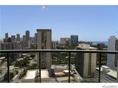 Honolulu Rental For Rent: 1837 Kalakaua Avenue #2202