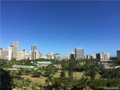 Honolulu Rental For Rent: 1910 Ala Moana Boulevard #9C