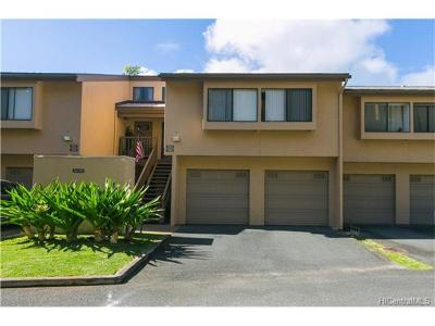 Kaneohe Condo/Townhouse For Sale: 46-036 Aliikane Place #513