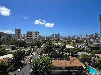 Honolulu Condo/Townhouse For Sale: 1634 Makiki Street #801