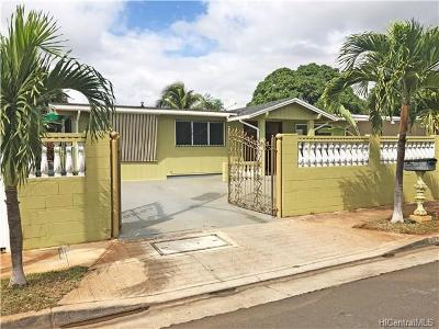Single Family Home For Sale: 91-1206 Hanaloa Street