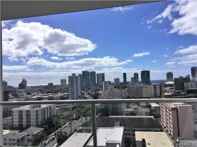 Honolulu Condo/Townhouse For Sale: 1556 Piikoi Street #1507