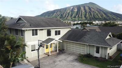 Honolulu Single Family Home For Sale: 7391 Makaa Street