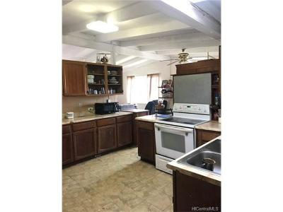 Pearl City Single Family Home In Escrow Showing: 2180 Awikiwiki Street