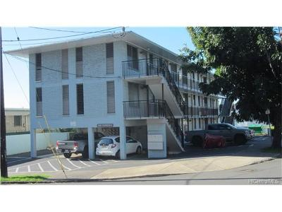 Honolulu Condo/Townhouse For Sale: 1525 Pensacola Street #301