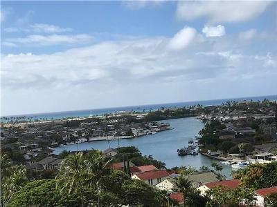 Honolulu Condo/Townhouse For Sale: 6750 Hawaii Kai Drive #804