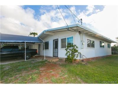 kapolei Single Family Home In Escrow Showing: 92-361 Laaloa Street