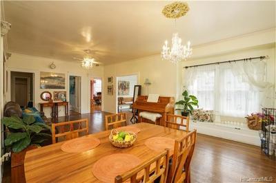 Single Family Home For Sale: 2829 Kolowalu Street