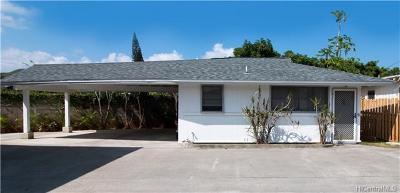 Kailua Single Family Home For Sale: 819 Oneawa Street #C