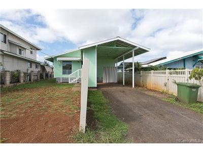 Single Family Home In Escrow Showing: 66-882 Wanini Street