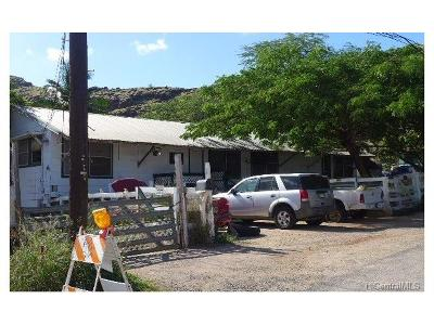 Waianae Single Family Home For Sale: 86-517 Paheehee Place