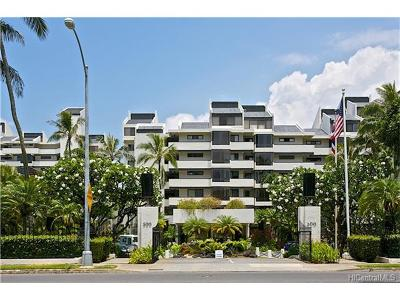 Honolulu County Condo/Townhouse For Sale: 500 Lunalilo Home Road #41D