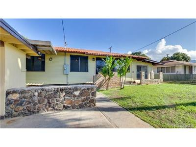 Waianae Single Family Home In Escrow Showing: 86-026 Hoaha Street