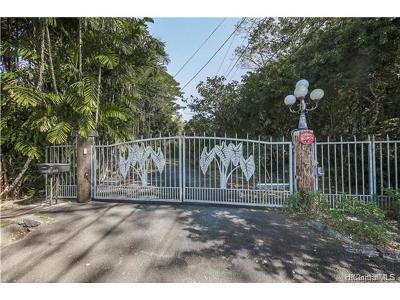 Honolulu Residential Lots & Land For Sale: 3270 Pawaina Street #2