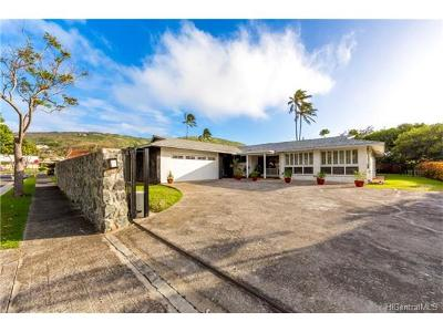 Single Family Home For Sale: 123 Anahola Street