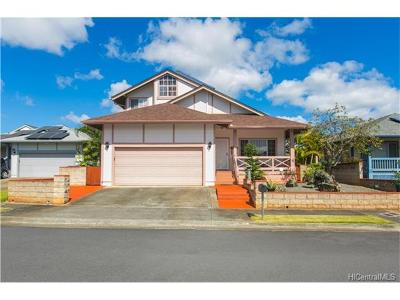Mililani Single Family Home For Sale: 95-1018 Hakala Street