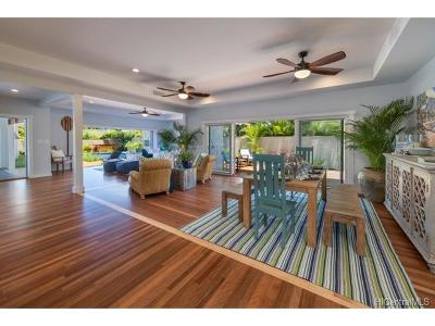 Honolulu HI Single Family Home In Escrow Showing: $2,975,000
