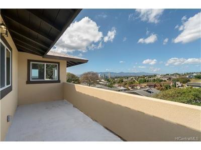 Aiea Single Family Home For Sale: 99-567 Kahilinai Place