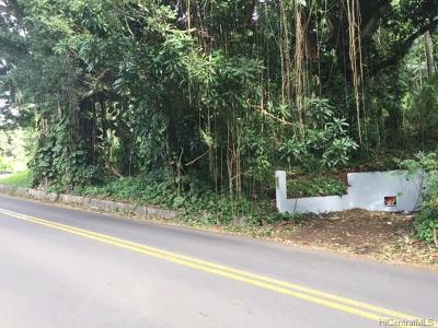 Honolulu County Residential Lots & Land In Escrow Showing: 2123 Round Top Drive