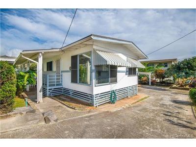 Honolulu Single Family Home In Escrow Showing: 2007 Kamehameha Iv Road