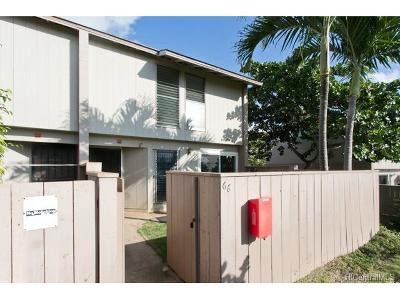 Kapolei Condo/Townhouse In Escrow Showing: 92-767 Makakilo Drive #66