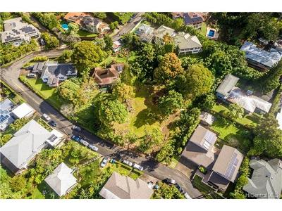 Honolulu Residential Lots & Land In Escrow Showing: 3651 Alani Drive