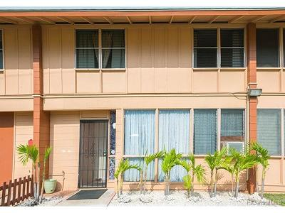 Pearl City Condo/Townhouse In Escrow Showing: 1198 Hoola Place #15B