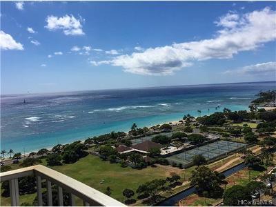 Honolulu County Condo/Townhouse For Sale: 1350 Ala Moana Boulevard #2705