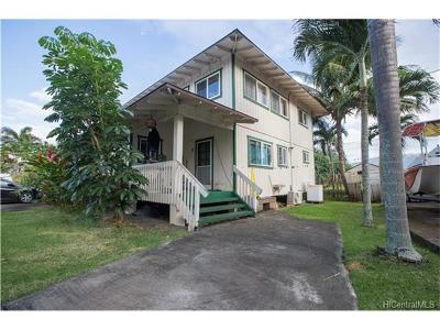 Hauula Single Family Home For Sale: 53-524 Kamehameha Highway #B