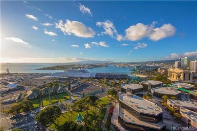 Hawaii County, Honolulu County Condo/Townhouse For Sale: 415 South Street #2502