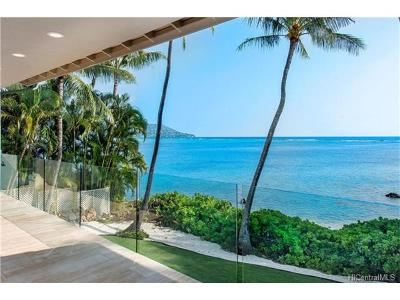Honolulu Single Family Home For Sale: One Puuikena Drive