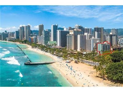 Hawaii County, Honolulu County Condo/Townhouse For Sale: 134 Kapahulu Avenue #716