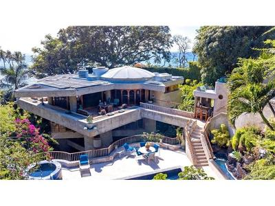 Honolulu Single Family Home For Sale: 3196 Diamond Head Road #2