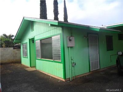 Waianae Rental For Rent: 84-525 Manuku Street