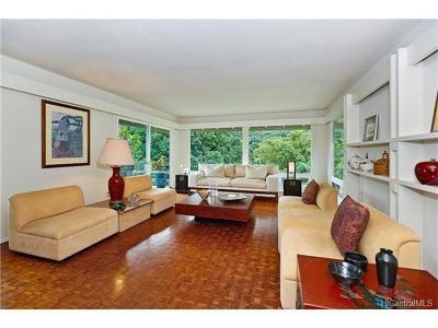 Kaneohe Single Family Home For Sale: 46-512 Haiku Plantation Drive