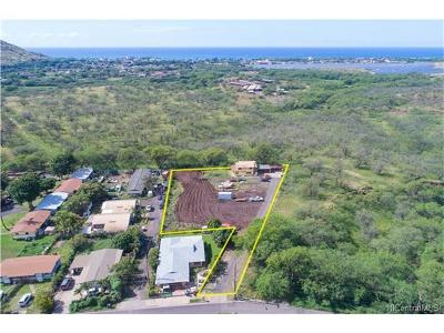 Waianae Single Family Home For Sale: 85-707 Piliuka Place #B