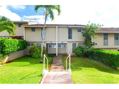 Kapolei Condo/Townhouse In Escrow Showing: 92-787 Makakilo Drive #D24
