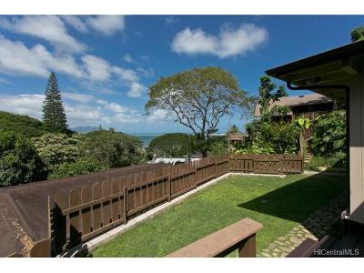 Kaneohe Single Family Home For Sale: 45-220 Kokokahi Place