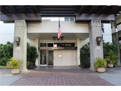 Honolulu Condo/Townhouse For Sale: 469 Ena Road #1208