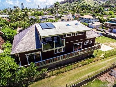 Haleiwa Single Family Home For Sale: 59-043 Huelo Street #PRKG