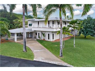Single Family Home For Sale: 44-390 Kaneohe Bay Drive
