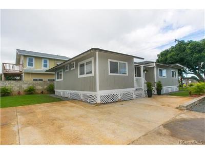 Single Family Home For Sale: 517 Kihapai Street