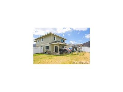 Waianae Single Family Home In Escrow Showing: 87-1625 Wehiwehi Street