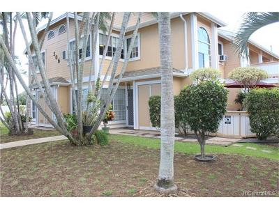 Honolulu Condo/Townhouse In Escrow Showing: 99-306 Mananai Place #4A