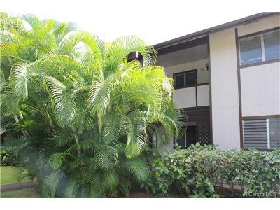 Pearl City Condo/Townhouse For Sale: 96-210 Waiawa Road #114
