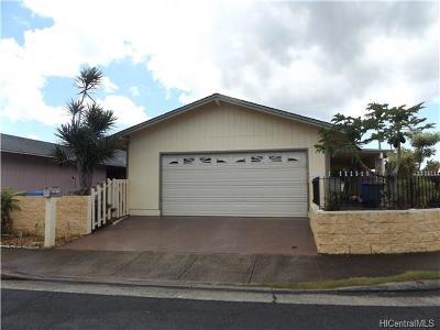 Waipahu Single Family Home For Sale: 94-650 Puhau Way